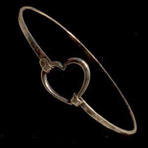 James Avery Heart Sterling Silver Bracelet